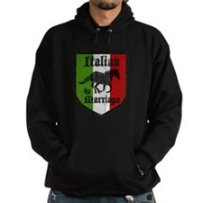 Italian by Marriage Vintage Hoodie
