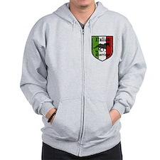 Italian by Marriage Vintage Zip Hoodie