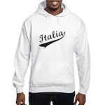 Italia Vintage Baseball Hooded Sweatshirt