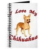I Love My Chihuahua Journal