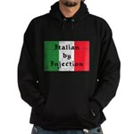 Italian by Injection Hoodie (dark)