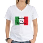Italian by Injection Women's V-Neck T-Shirt