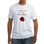 Mommy's Little Meatball Fitted T-Shirt