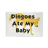 Cute Dingo Rectangle Magnet