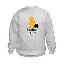 Bowling Chick Sweatshirt