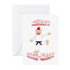 Martial Arts Christmas Cards (Pk of 10)