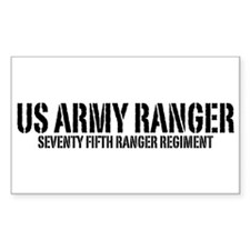 US Army Ranger - 75th Rectangle Decal