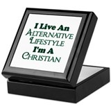Alternative Christian Lifestyle Keepsake Box
