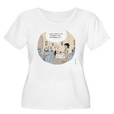 Overbite Women's Plus Size Scoop Neck T-Shirt