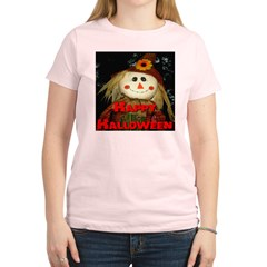 Happy Halloween Scarecrow Women's Light T-Shirt