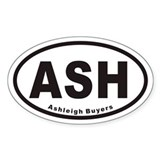 ASH Euro Oval Sticker (Ashleigh)
