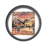 The Pan-American Exposition Wall Clock