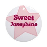 Sweet Josephine Ornament (Round)