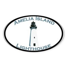 Amelia Island FL Oval Decal
