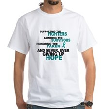 Support Admire Honor Cervical Cancer Shirt