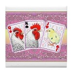 Delaware Family Cards Tile Coaster