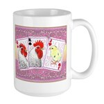 Delaware Family Cards Large Mug