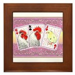 Delaware Family Cards Framed Tile