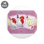 "Delaware Family Cards 3.5"" Button (10 pack)"