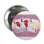 "Delaware Family Cards 2.25"" Button (100 pack)"