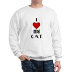 LOVE MY CAT Sweatshirt