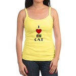 LOVE MY CAT Jr. Spaghetti Tank