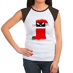 LOVE MY CAT Women's Cap Sleeve T-Shirt