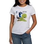 Peacock Indian Blue Women's T-Shirt
