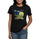 Peacock Indian Blue Women's Dark T-Shirt