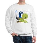 Peacock Indian Blue Sweatshirt