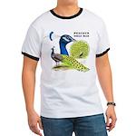 Peacock Indian Blue Ringer T