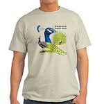 Peacock Indian Blue Light T-Shirt