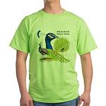 Peacock Indian Blue Green T-Shirt