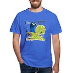 Peacock Indian Blue Dark T-Shirt