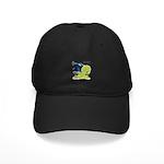 Peacock Indian Blue Black Cap