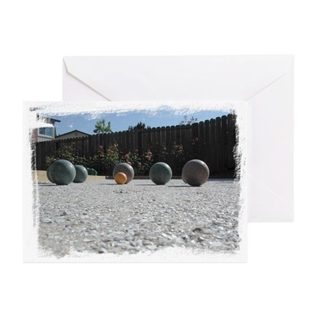 Bocce Greeting Cards (Pk of 10)