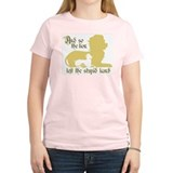 Lion left stupid lamb  T-Shirt