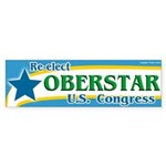 Re-elect Oberstar to Congress bumper sticker
