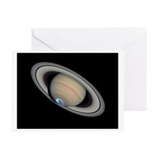Saturn Aurora Greeting Cards (Pk of 10)