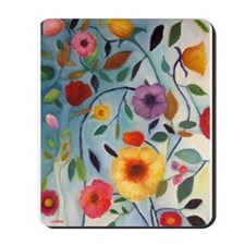 FLOWERS Mousepad