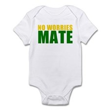 No Worries Mate Infant Bodysuit
