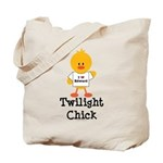 I Love Edward Twilight Chick Tote Bag
