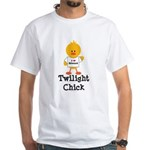 I Love Edward Twilight Chick White T-Shirt