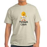 I Love Edward Twilight Chick Light T-Shirt