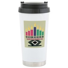 Kwanzaa Ceramic Travel Mug