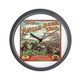 Boer War Program Wall Clock