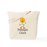 Team Jacob Twilight Chick Tote Bag