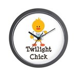 Team Jacob Twilight Chick Wall Clock