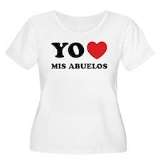 Yo Amo Mis Abuelos T-Shirt