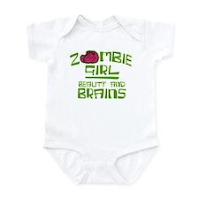 Zombie Girrl Infant Bodysuit